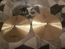 """More details for istanbul nostalgia 16"""" hi-hats cymbals"""