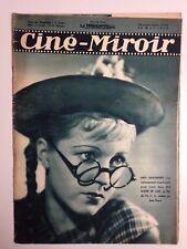 CINE MIROIR N°685 20 MAI 1938 COUV MEG LEMONNIER