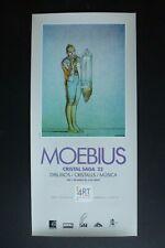 Affiche offset 31x66 cm Barcelone 1992 « CRISTAL SAGA 22 » Jean GIRAUD MOEBIUS