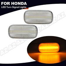 2x Led Side Marker Light For Honda Accord Civic Cr V Acura Rsx Integra Odyssey
