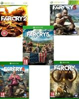 FAR CRY Xbox One Xbox 360 Backward Compatible Assorted MINT - Super Fast Deliver