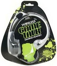 Xbox 360 Xbox Live Datel Wireless Game Talk Rechargeable Headset New