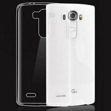 Custodia per LG G4 Cover Morbida Trasparente Silicone Tpu Gel Antiurto Slim