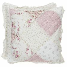 CLAYRE & EEF Kissenbezug *Kissenhülle *ROMANCE*Rosé Quilt Kissen Shabby Chic