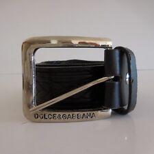 Ceinture femme vintage DOLCE & GABBANA cuir KEYWEST made in Italy
