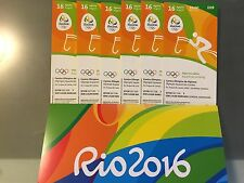 ***Souvenir*** Rio Summer Olympics Equestrian Jumping Tickets - 8/16/2016