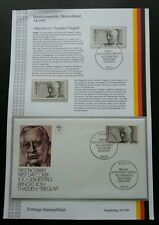 Germany Thadden Trieglaff Reinold 1991 (stamp + FDC) MNH *see scan