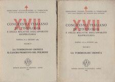 XVII. Congresso italiano di tisiologia e delle malattie dell'apparato respirator