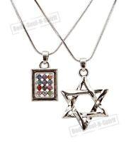 STAR OF DAVID Hoshen Shield Pendant Necklace Jewish Israel Judaica holy Gift