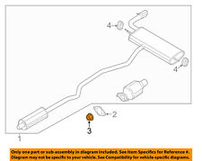 FORD OEM Exhaust-Muffler & Pipe Nut W520103S442