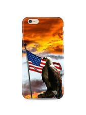 American Eagle Flag USA iPhone 4S 5 5S 5c 6 6S 7 8 X XS Max XR 11 Pro Plus Case
