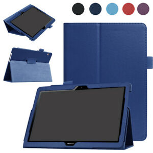 Ultra Slim Leather Stand Case For Huawei MediaPad T3 10 Tablet 9.6'' Shockproof