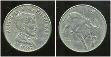 PHILIPPINES 1 piso  1985  ANM   ( bis )