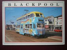 POSTCARD BLACKPOOL TRAM NO 709