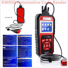 Unique ODB OBD2 Auto Car Diagnostic Tools Scanner KW850 Automotive Code Reader