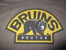 Wright & Ditson BOSTON BRUINS BEAR Logo (MED) T-Shirt BROWN