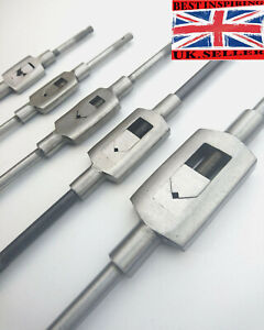 BAR TYPE TAP WRENCH Small-Large ADJUSTABLE Vehicle Threading Tool Holder Handle