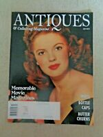 Antiques and Collecting Magazine 2010 Movie Mags Maps Bottle Caps Butter Churns