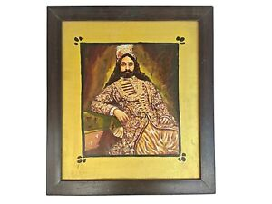 Art work on king's Litho Print Pasted on Wooden panel Synthetic Wooden Frame T2