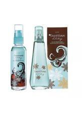 Avon Tahitian Holiday Set 50ml EDT And Body Mist Free P&P