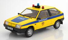 Lada Samara 1985 Russian Police 1:18 Model KK SCALE