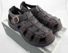 Dunham Fisherman Sandals, Brown Leather, US 10, EU 44, NEW In Box, HARD TO FIND!