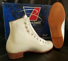 RIEDELL Model 101 (Boot Only) White - SIZE 4M