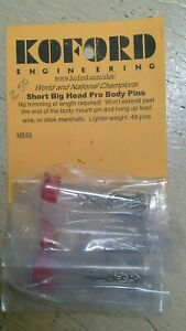 Koford Short Big Head Pro Body Pins (this is  for one pack of at least 48 pin)