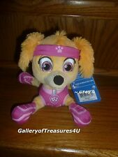 "Paw Patrol SKYE All Stars Star 8"" Plush Pup Pals Puppy Girl Dog Pink Sky Stella"