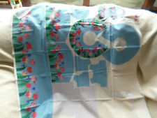 BUNNY SUE CLOTH RABBIT AND  BUNNY'S PLAY HOUSE PRINTED FABRIC & INSTRUCTIONS