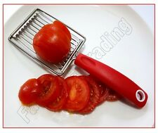 Tomato Slicer Cutter Stainless Steel Egg Chopper Fruit Cheese Tool Serrated