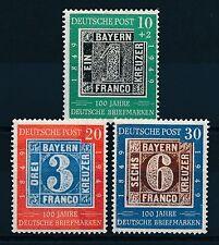 Ungeprüfte Briefmarken aus Deutschland (ab 1945) mit Postfrisch für Post, Kommunikation