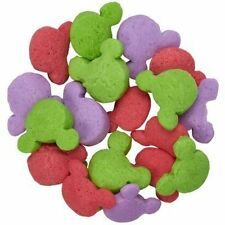 Mickey Mouse Edible Sprinkles - Green, Pink, Purple - 8.0 oz