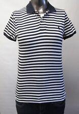 Ralph Lauren,Neuwertig,Damen,Polo,Shirt,Gestreift,Blau/Weiß,M(USA),Gr.40