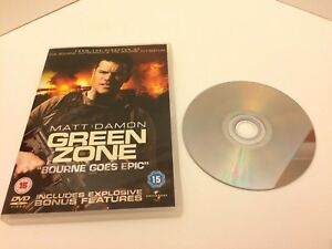 "Ex. Condition. ""Green Zone"" Matt Damon DVD"
