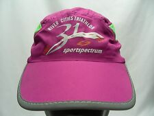 River City Triathlon - Lightweight Polyester Adjustable Ball Cap Hat!
