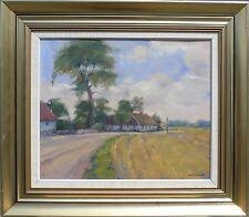 Gustav Berlino (SWE 1905-1988) svedese estate paesaggio-COLLAGES