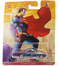 Hot Wheels Dc Comics Superman 71 Chevy El Camino Real Riders