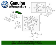 NEW VW Passat Jetta Beetle Air Cleaner Intake Inlet Duct Tube Hose Cover Genuine