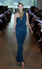 Lisa Ho Silk Jersey dress in Licorice, size 12 (M) BNWT (RRP $1199)