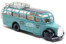 Roco 1526 - Saurer Komet Bus Hochtief Schwarz Bau AG grün - 1:87 H0