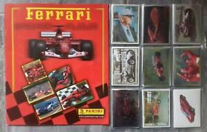 FERRARI Panini Full Complete Stickers set + Empty album