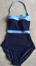 Bnwt Ladies Marks And Spencer Italian Fabric Bandeau Swimsuit Size 8 Holiday