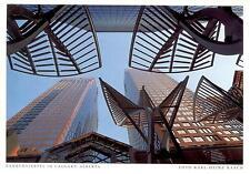 Canada  -  Calgary - Skulptur Stahl-Bäume im Bankenviertel  -  ca.1995