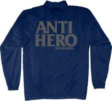 Anti Hero Black Hero Reflective Coach Windbreaker Skateboard Jacket Navy Xl