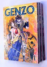 GENZO n. 1-5 SERIE COMPLETA Star Comics 2005 Yuzo Takada Manga