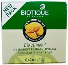 Biotique Bio Almond Overnight Therapy Lip Balm 12 gm Free Shipping Worldwide