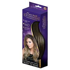 Headband straight hair extensions ebay secret extensions by daisy fuentes hair extensions as seen on tv medium brown pmusecretfo Image collections