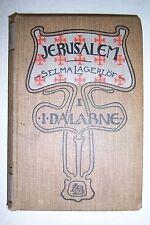 JERUSALEM Selma Lagerlof Lagerlöf. 1903 text in Swedish. Volume 1