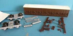 Unboxed Keyser K's Models Plastic White Metal 4mm Part Built - GWR Siphon F Van